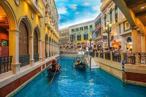 澳門路氹威尼斯人大運河購物中心