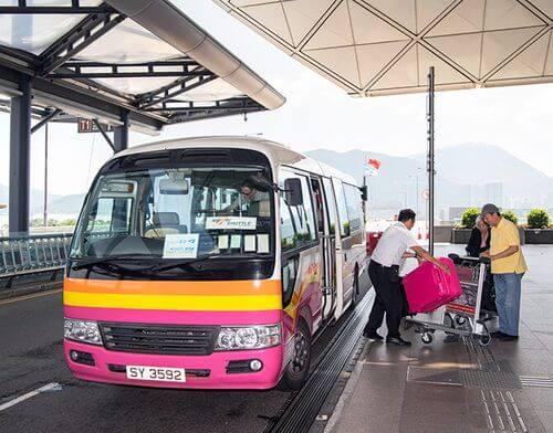 香港機場酒店巴士